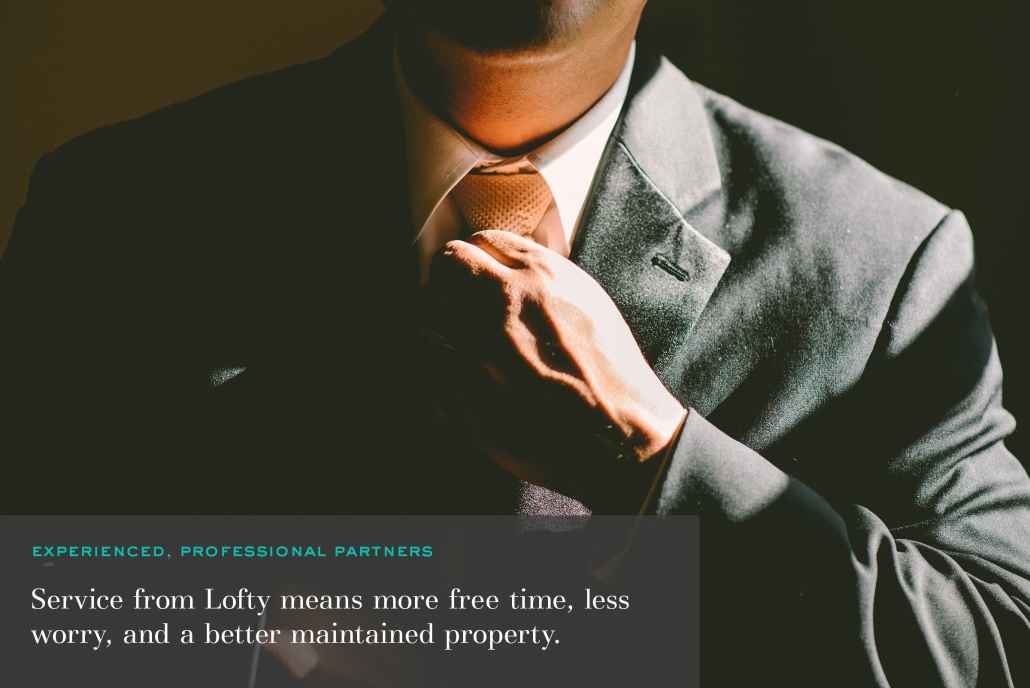 Lofty's Experienced Property Management Professionals
