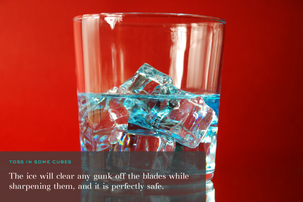Ice Cubes Garbage Disposal