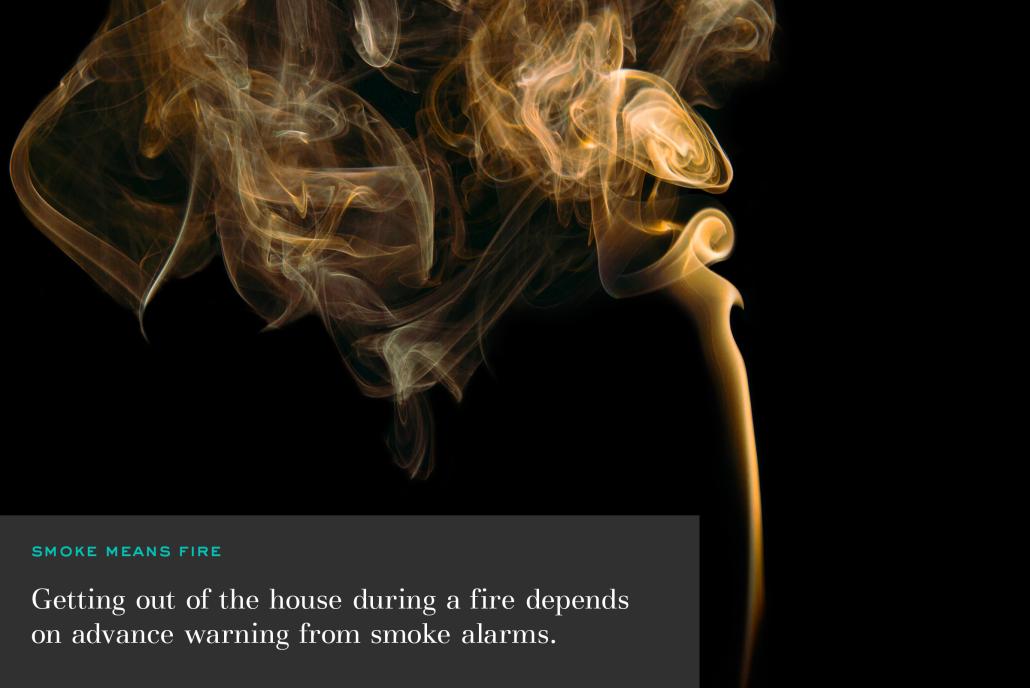 smoke fire