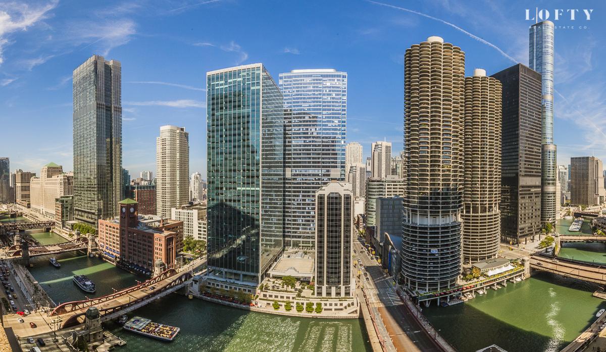 chicago skyline views